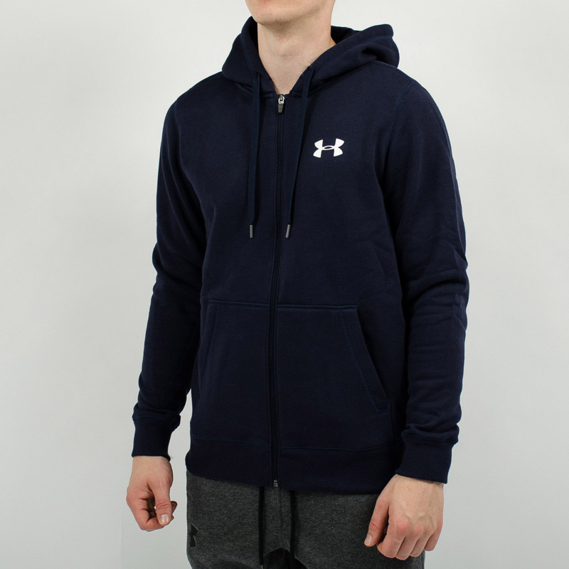 under armour zip up jacket. under armour rival fitted full zip hoodie jacket up