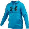 Under Armour Rival Fitted Graphic Hoodie Džemperis