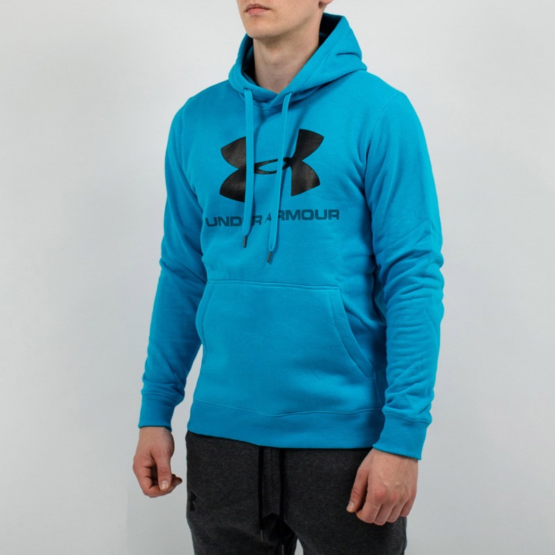 reputable site a7924 006fa Under Armour Rival Fitted Graphic Hoodie Jacket - SPORTING GOODS Sports  Hoodies   Sweatshirts - Superfanas.lt