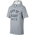 Jordan City Of Flight Short Sleeve Hooded džemperis