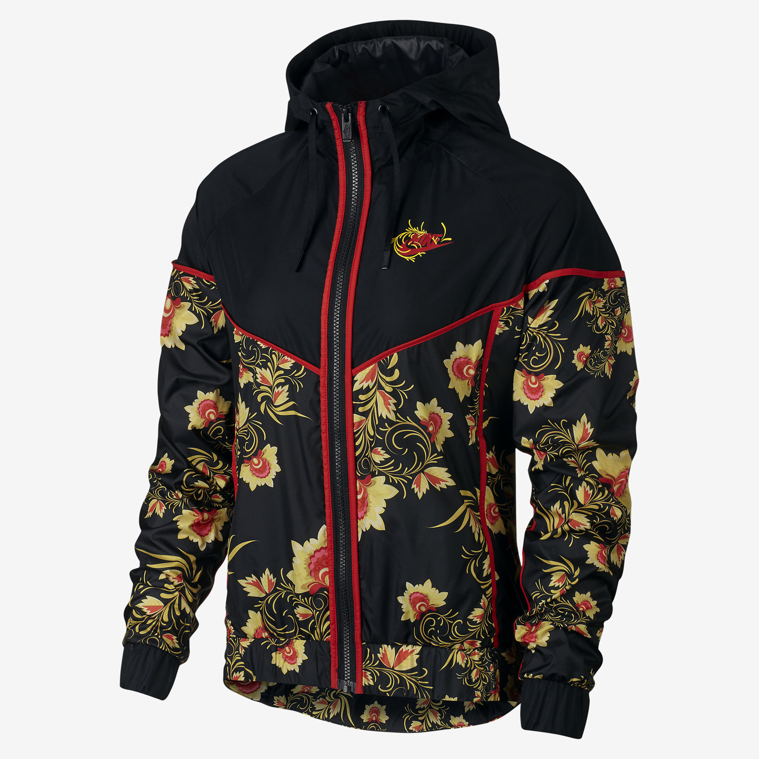 Nike Wmns Nsw Floral Windrunner Printed Jacket Sporting