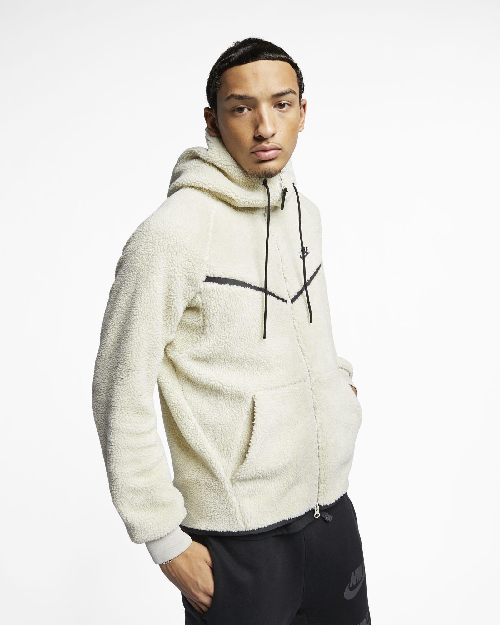 410284f7964 Nike Sportswear Windrunner Tech Fleece Sherpa Hoodie - SPORTING GOODS  Sports Hoodies | Sweatshirts - Superfanas.lt