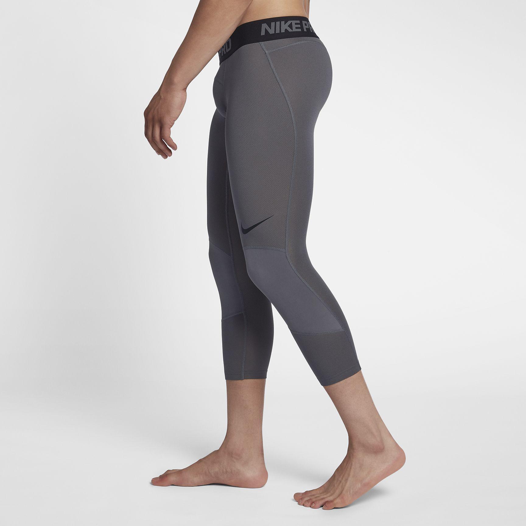 4f66e0c81f7bb Nike Pro Dri-FIT 3/4 Basketball Tights - SPORTING GOODS Athletic Underwear  - Superfanas.lt