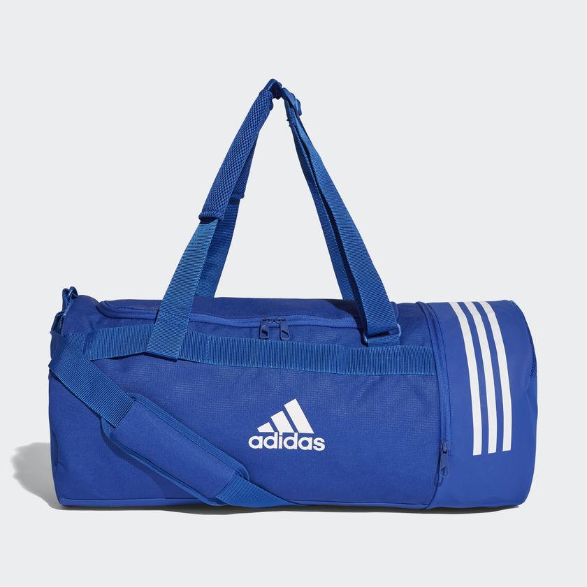 a8a096482c750 adidas Convertible 3 Stripes Medium Duffel Bag - SPORTING GOODS Backpacks