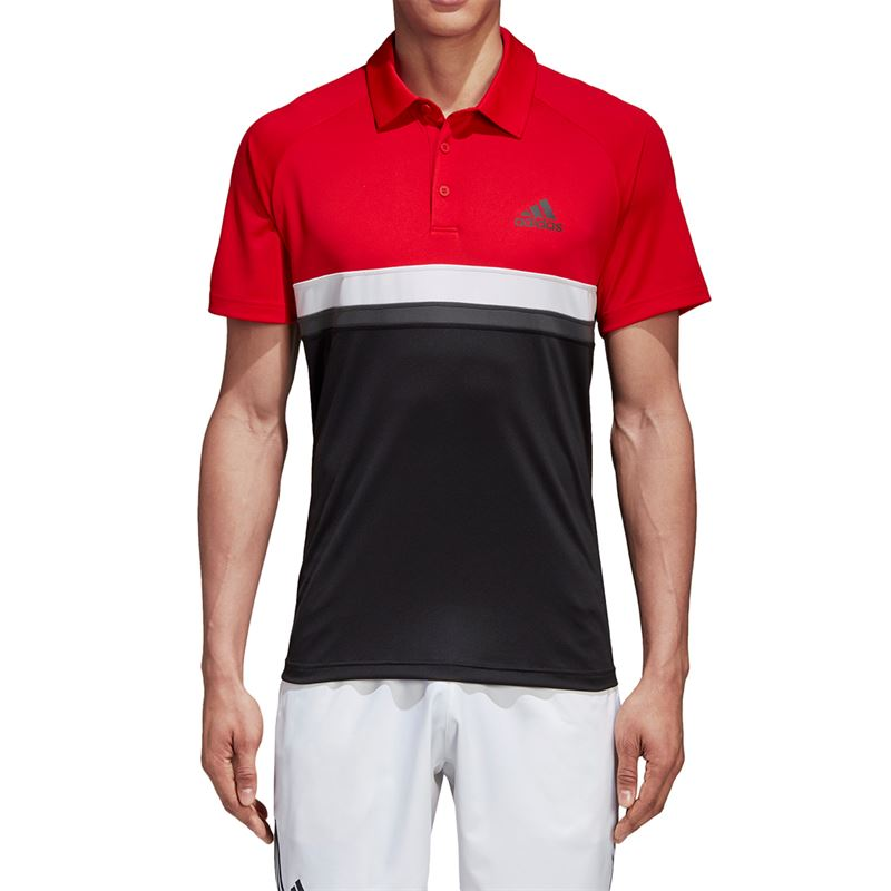 Adidas color block club polo shirt sporting goods sports for Polo color block shirt