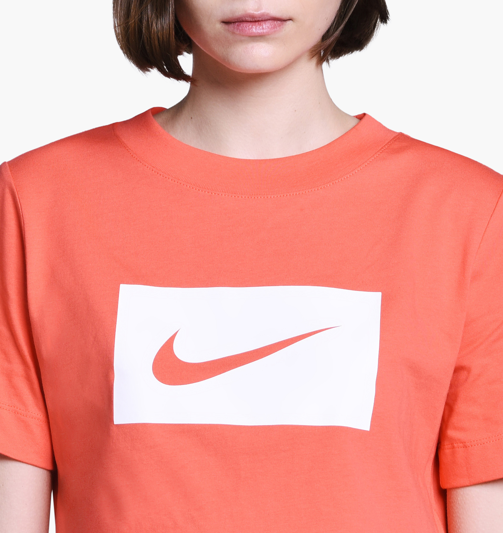 9f99807cf532de Nike Wmns NSW Swoosh Cropped Tee - SPORTING GOODS Sports Shirts ...