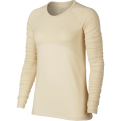 Nike Wmns Pro Champagne Warm Long Sleeve Shirt