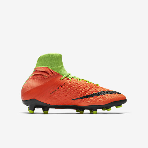 newest dd811 ae704 Nike JR Hypervenom Phantom 3 DF FG Kids Soccer Cleats ...