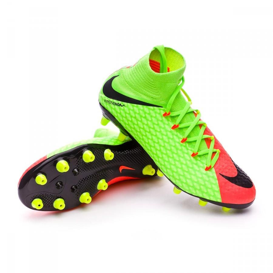 best sneakers e3a8f 737d3 Nike Hypervenom Phatal III DF AG-PRO Soccer Shoes - Soccer Cleats Nike  Football Boots - Superfanas.lt