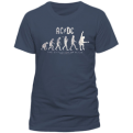 AC/DC Evolution Of Rock Tee