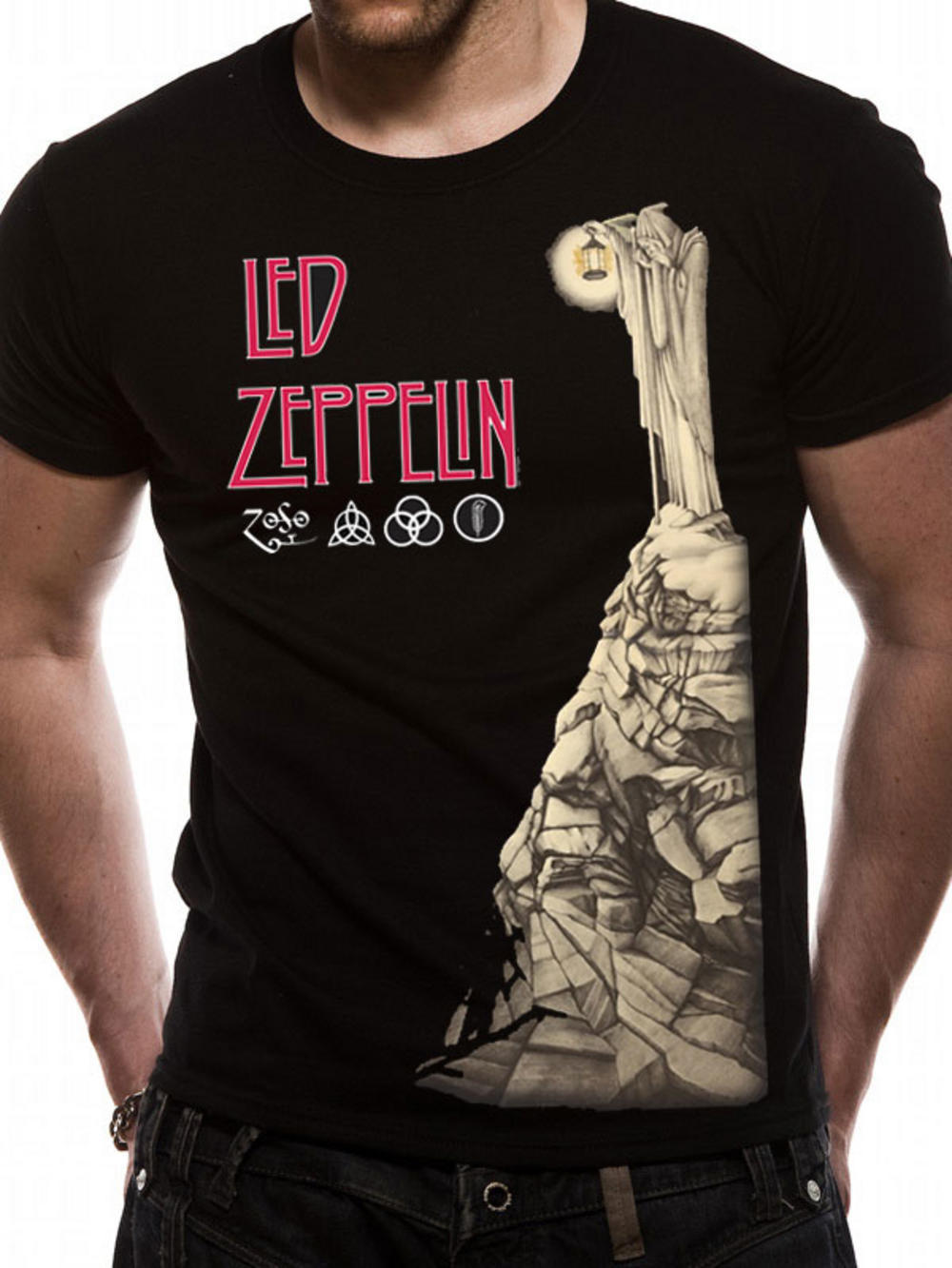 led zeppelin hermit official tee music merchandise led zeppelin merchandise. Black Bedroom Furniture Sets. Home Design Ideas