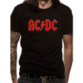 AC/DC Red Logo Official Tee