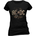 AC/DC Rock Or Bust Official Women Tee