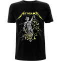 Metallica And Justice For All Tracks Tee