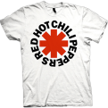 Red Hot Chili Peppers Red Asterisk Tee