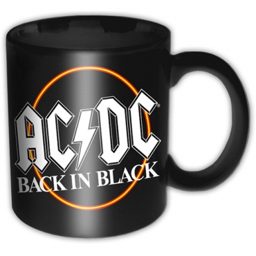 AC/DC Back In Black Puodelis