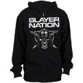 Slayer Nation Džemperis Su Užtrauktuku
