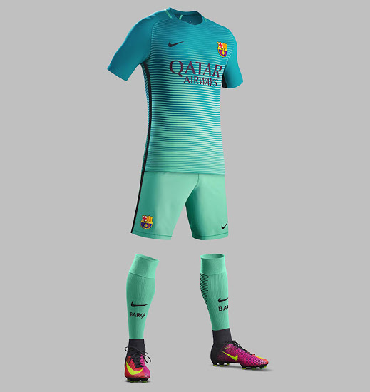 a9ec417d277 Barcelona 16-17 Third Kit Released
