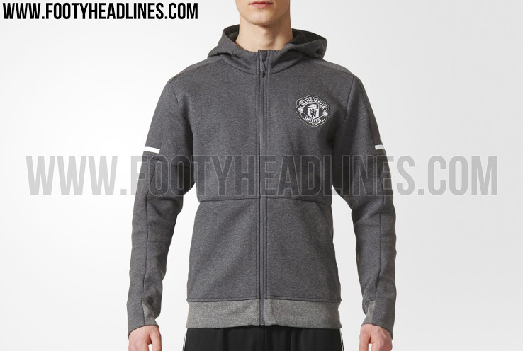 Adidas Manchester United 17-18 ZNE Hoodie
