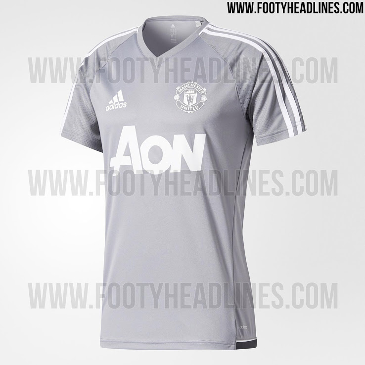 Adidas Manchester United 17-18 Training Jersey