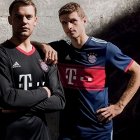 e02548bf3aa ... Official  Bayern Munich 17-18 Away Kit