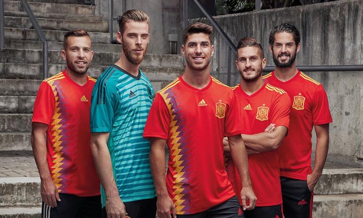 Ispanijos rinktinės 2018 pasaulio čempionato apranga