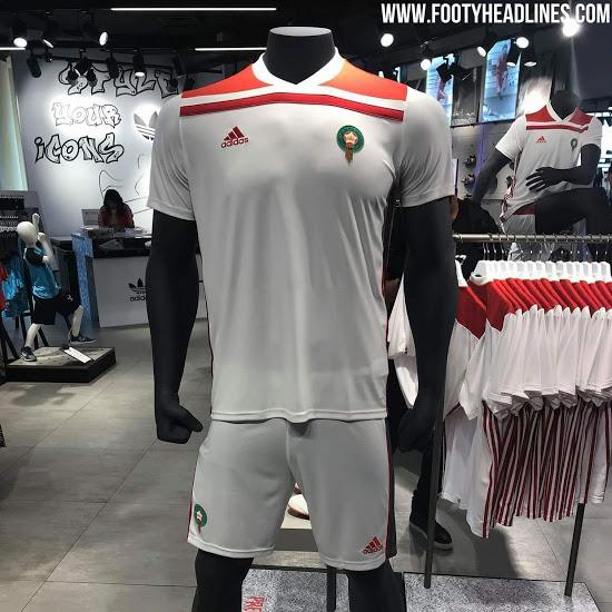 Moroko rinktinės 2018 pasaulio čempionato apranga