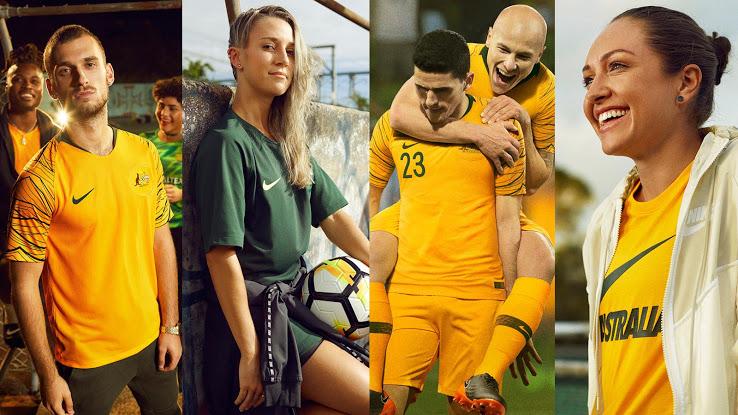 Australijos rinktinės 2018 pasaulio čempionato apranga