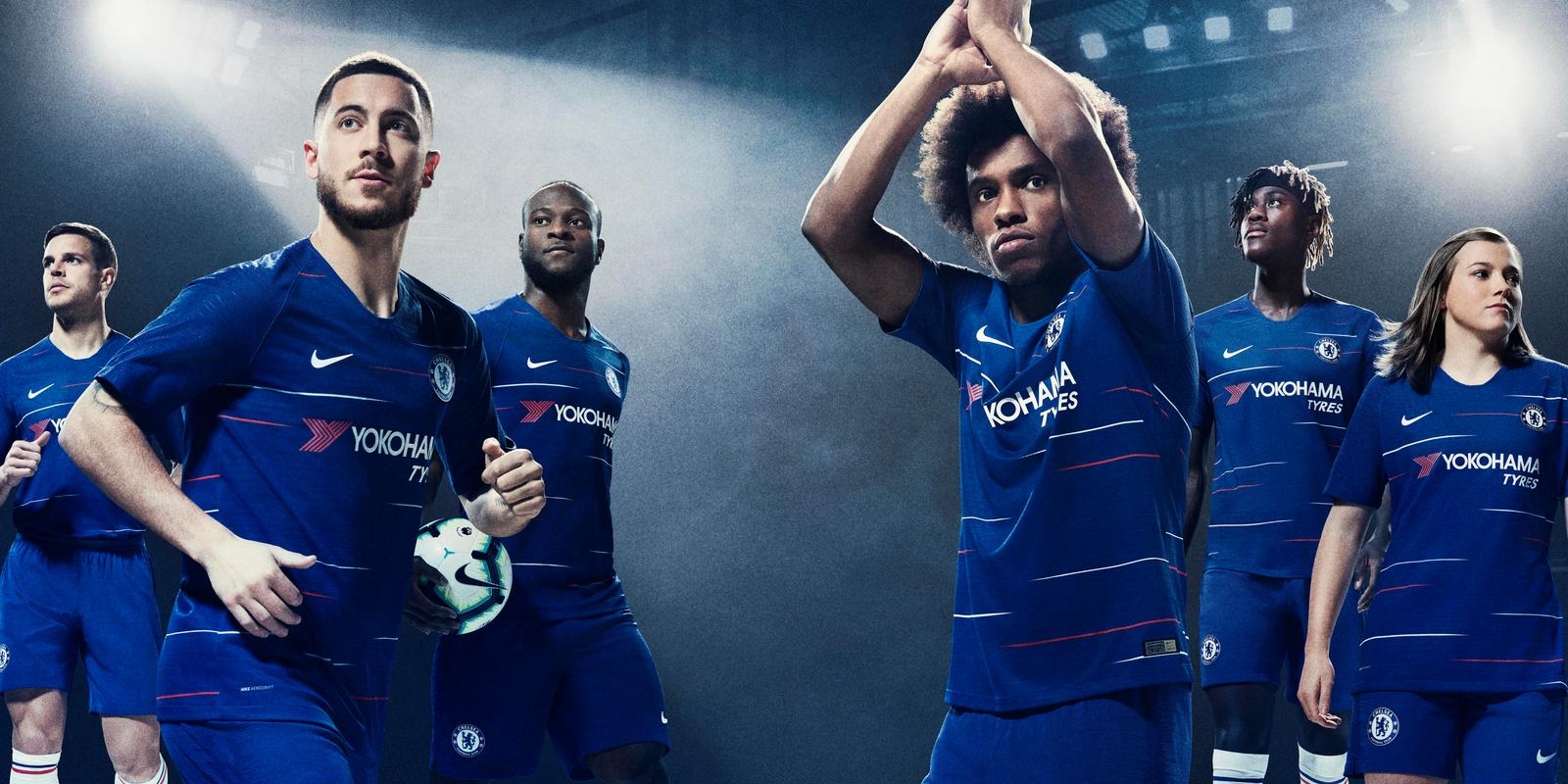 2018-19 sezono London Chelsea Marškinėliai