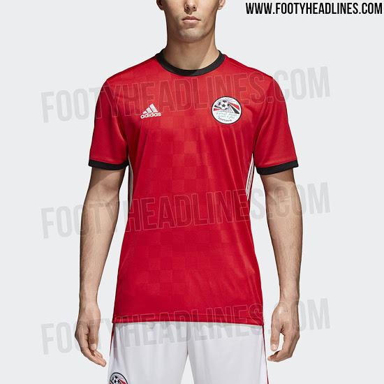 Egipto rinktinės 2018 pasaulio čempionato apranga
