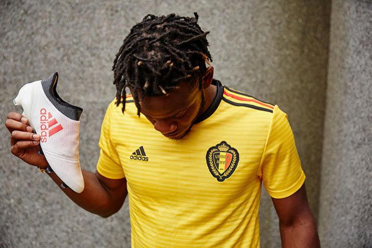 Belgijos rinktinės 2018 pasaulio čempionato apranga