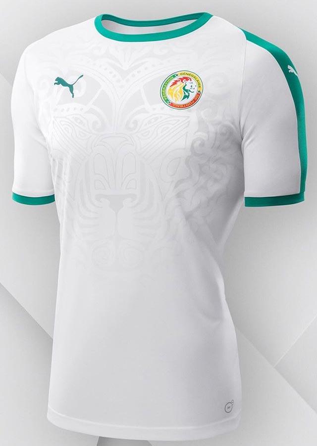 Senegalo rinktinės 2018 pasaulio čempionato apranga