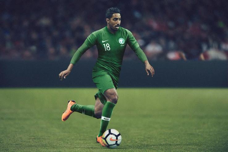 Saudo Arabijos rinktinės 2018 pasaulio čempionato apranga