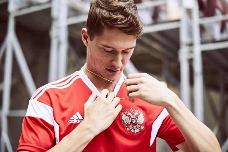 Rusijos rinktinės 2018 pasaulio čempionato apranga