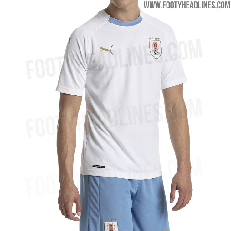 Urugvajaus rinktinės 2018 pasaulio čempionato apranga