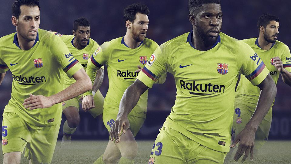 FC BARCELONA 2018-19 MARŠKINĖLIAI (NIKE)