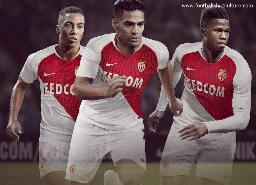 Monaco 2018-19 Marškinėliai (NIKE)