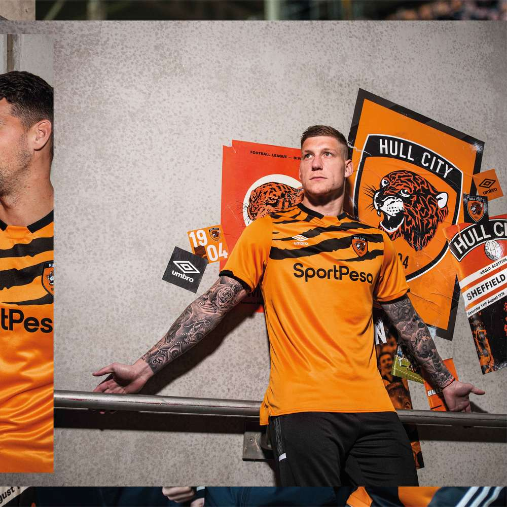 Umbro Hull City Tigers 2019-20 Home Kit