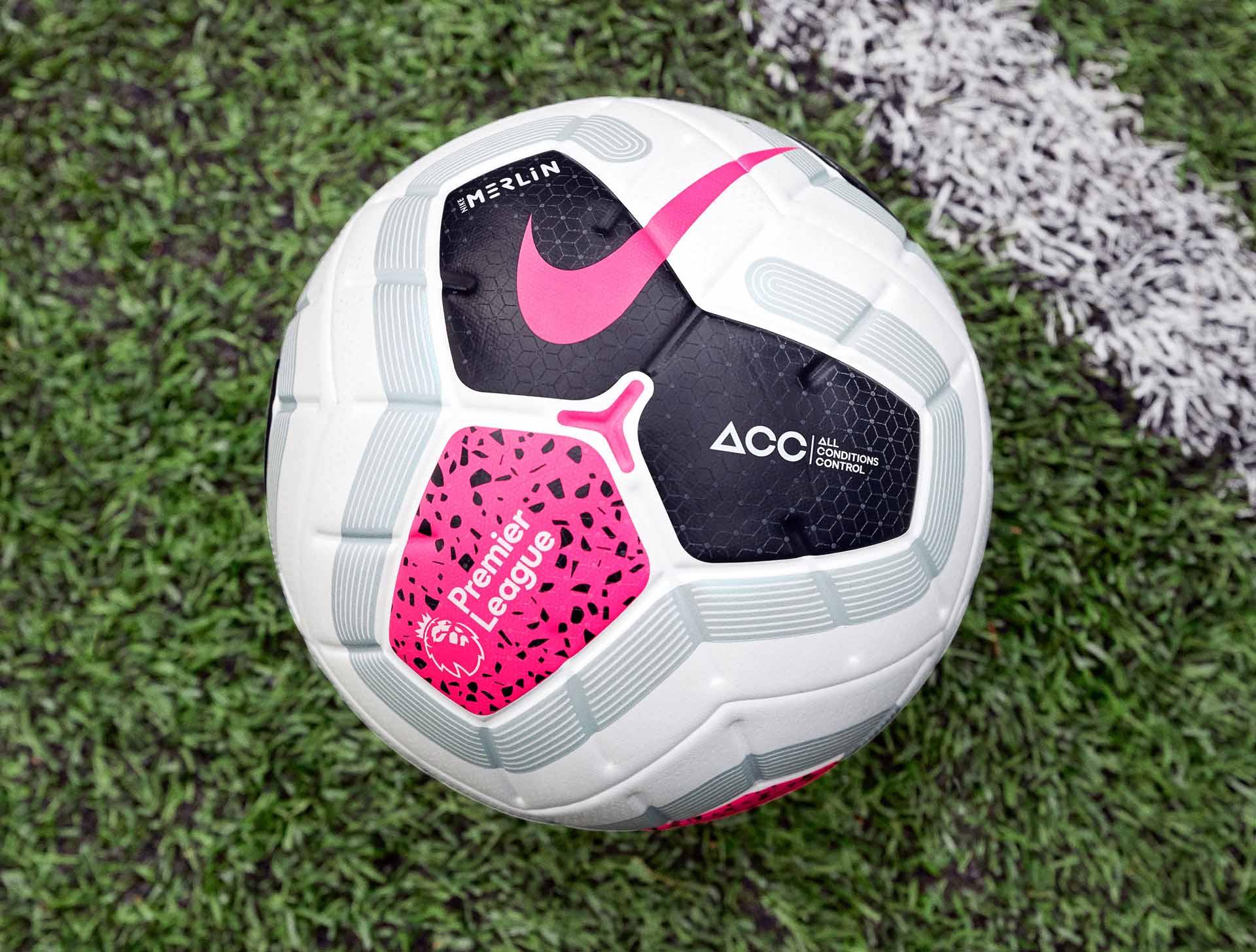 Nike Merlin 2019-20 Premier League Futbolo Kamuolys