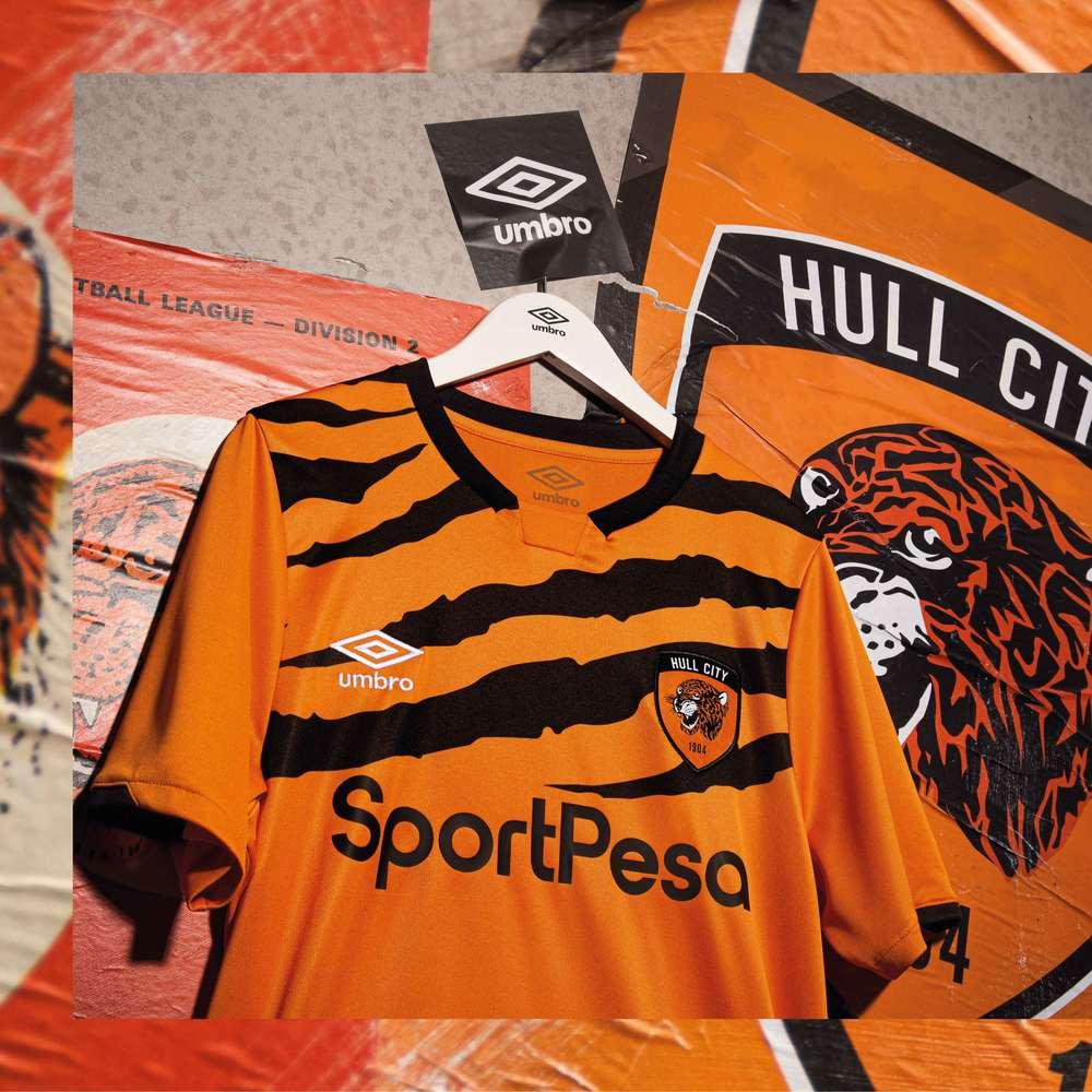 Umbro Hull City Tigers 2019-20 marškinėliai