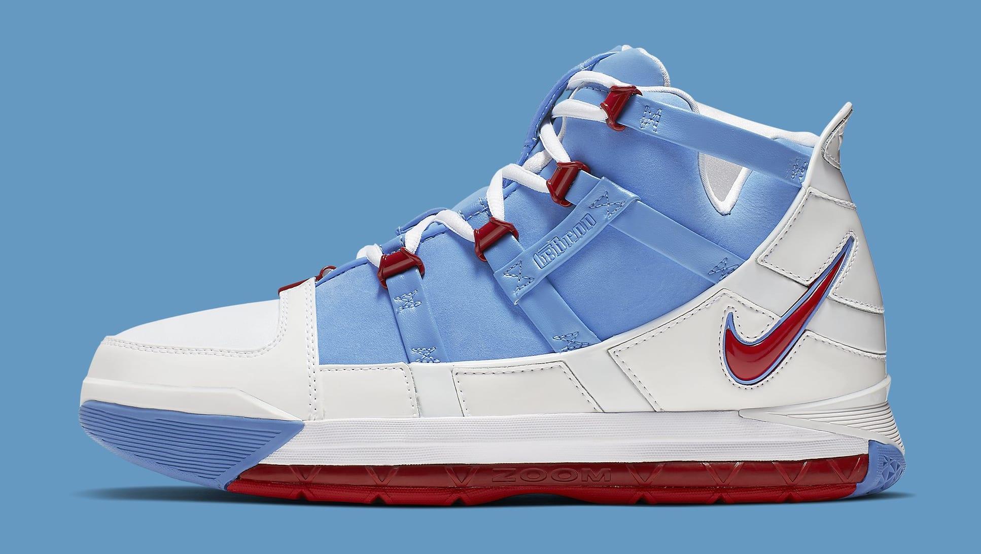 "Nike Zoom LeBron 3 QS ""Houston Oilers"""