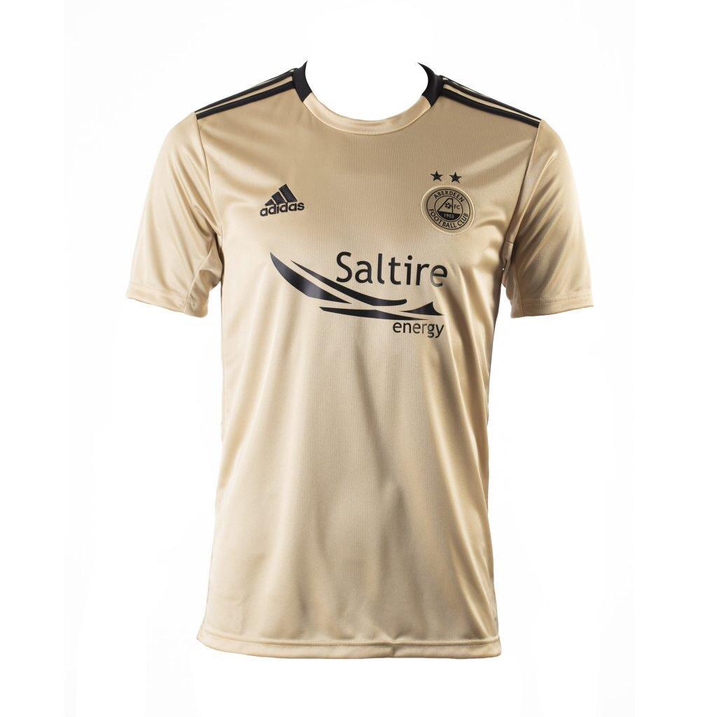 adidas Aberdeen FC 2019-20 išvykos marškinėliai