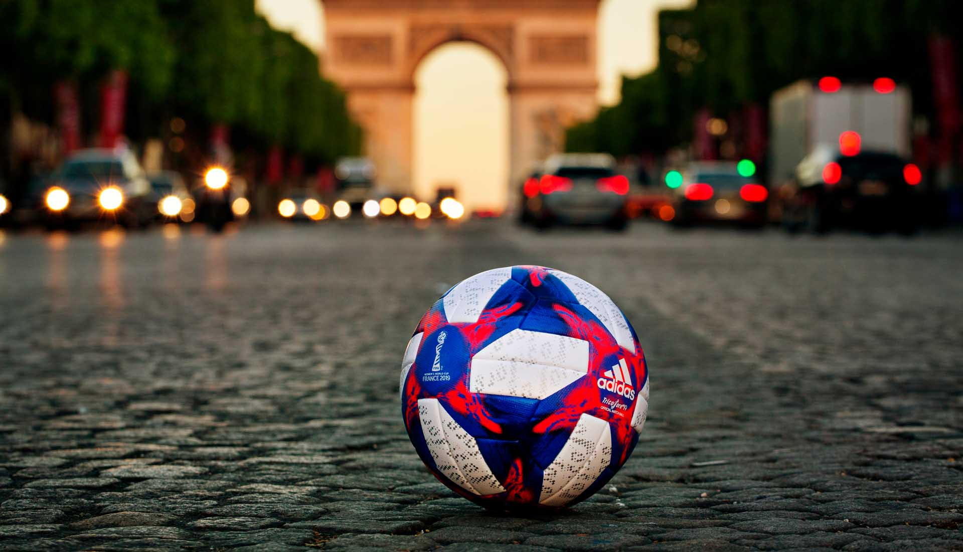 adidas The Tricolore 19 Women World Cup KO Ball