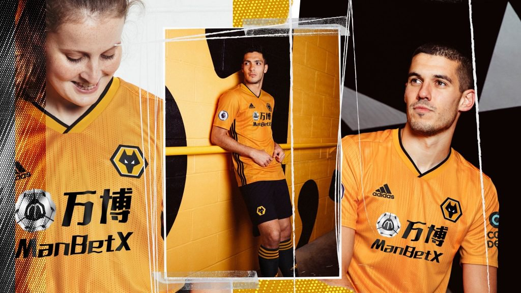 Adidas Wolves Home Kit 2019-20 Released