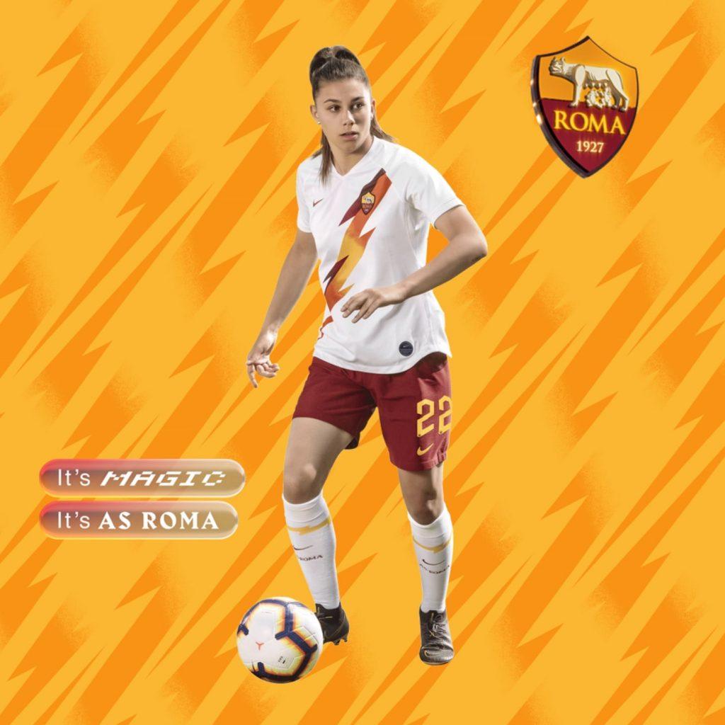 Nike AS Roma 2019/20 Away Kit