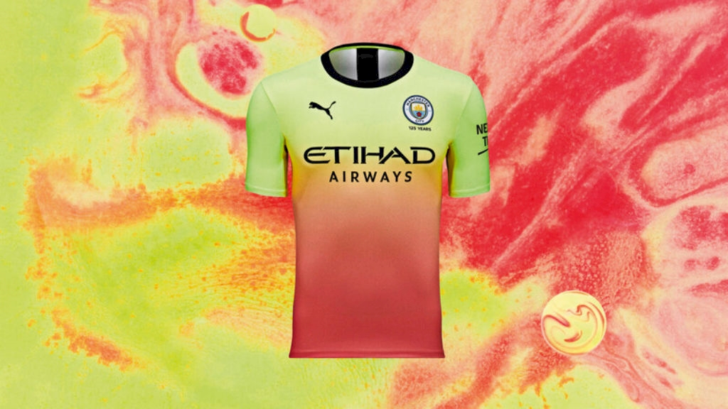 Puma Manchester City FC Third Kit 2019-20