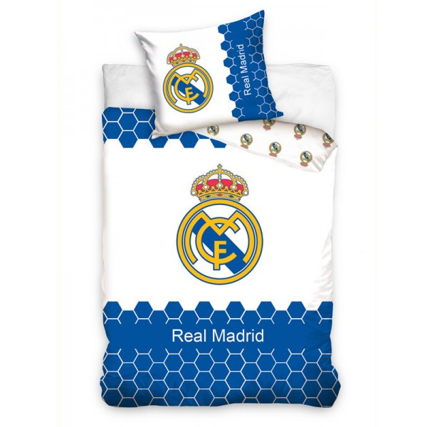 Real madrid bedding sheets soccer merchandise madrido real