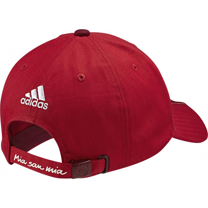 adidas fc bayern 3 stripes cap soccer merchandise munich. Black Bedroom Furniture Sets. Home Design Ideas