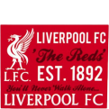 FC Liverpool Antklodė The Reds