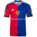 2014-2015 FC Basle Adidas Home Football Shirt
